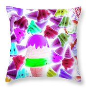 Sinking Into Sweet Uncertainty Throw Pillow