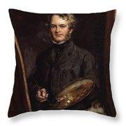 Sir Edwin Henry Landseer  Throw Pillow