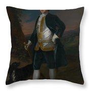 Sir James Dashwood        Throw Pillow