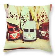 Sixties Dreaming Throw Pillow