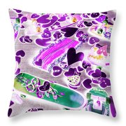 Skate Date Throw Pillow