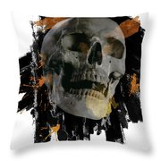 Skull - 4 Throw Pillow