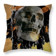 Skull - 9 Throw Pillow