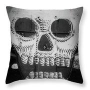 Skulldrudgery Throw Pillow