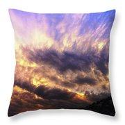 Sky Burst Throw Pillow
