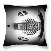 Skywalk Moma Throw Pillow by Michael Hope