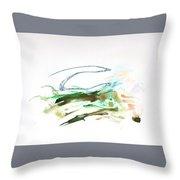 Skywave Throw Pillow