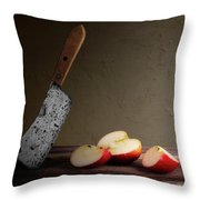 Slice And Dice Throw Pillow