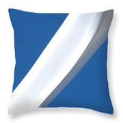Slice Throw Pillow by Carl Young