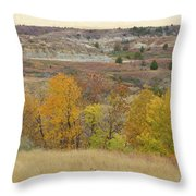 Slope County September Splendor Throw Pillow