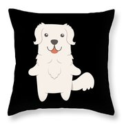 Slovak Cuvac Dog Gift Idea Throw Pillow