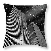 Snow Collection Set 03 Throw Pillow