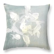Snowflake #1 Throw Pillow
