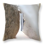 Soft Rock Throw Pillow