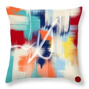 Sold Throw Pillow by Mark Taylor