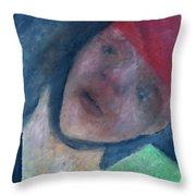 Soldier In Battle Throw Pillow