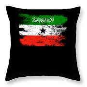 Somaliland Shirt Gift Country Flag Patriotic Travel Africa Light Throw Pillow