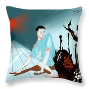 Somatoparaphrenia Throw Pillow