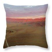 Sossusvlei Namibia Sunset Ridge Throw Pillow