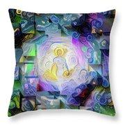 Soul Or Aura Throw Pillow