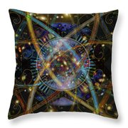 Sourcerer Throw Pillow by Kenneth Armand Johnson