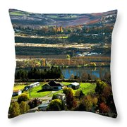 South Wenatchee Fall Throw Pillow