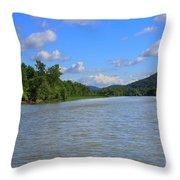 Southern Lake Champlain Throw Pillow