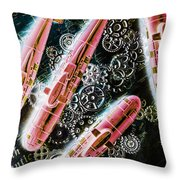 Southern Submarines  Throw Pillow