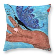 Soy El Amor Throw Pillow