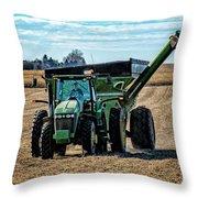 Soybean Hopper Throw Pillow