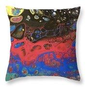 Space Odyssey Throw Pillow