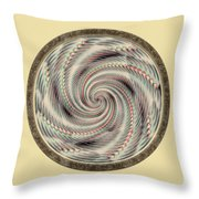 Spinning A Design For Decor And Clothing Throw Pillow