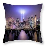 Spirit Of New York II Throw Pillow