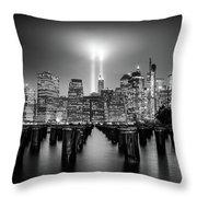 Spirit Of New York Throw Pillow