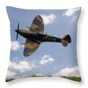 Spitfire Mk356 Throw Pillow