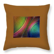 Splitting The Difference Throw Pillow