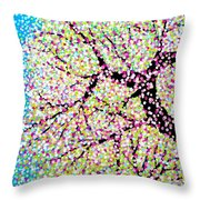 Spring Blessing Throw Pillow