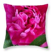 Spring Dahlia Throw Pillow