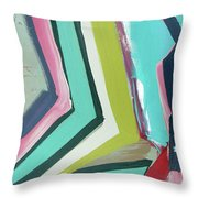 Springboard Throw Pillow by John Jr Gholson