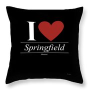Springfield Missouri Mo Missourian Throw Pillow