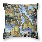 St. Augustine Throw Pillow