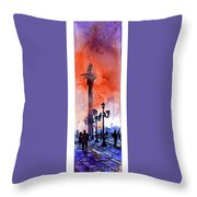 St. Mark's Square- Venice Throw Pillow