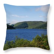 St. Marys Loch In Selkirkshire Throw Pillow