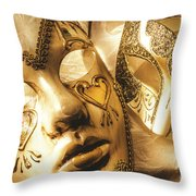 Staged Out Romances Throw Pillow