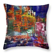 Stairs Leading To Stars Throw Pillow