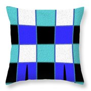 Stand Tall C Throw Pillow