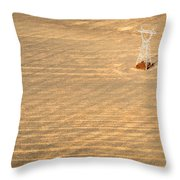 Standing Tall Throw Pillow by Carl Young