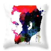 Stanley Watercolor Throw Pillow