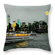Starboard Throw Pillow