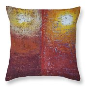 Staring Into The Suns Original Painting Throw Pillow